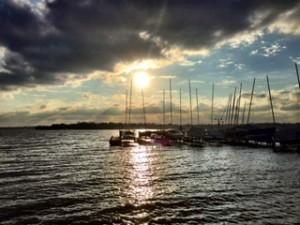 White Rock Lake Sunset