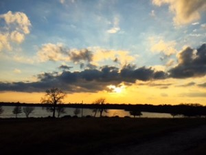 White Rock Lake Sunset