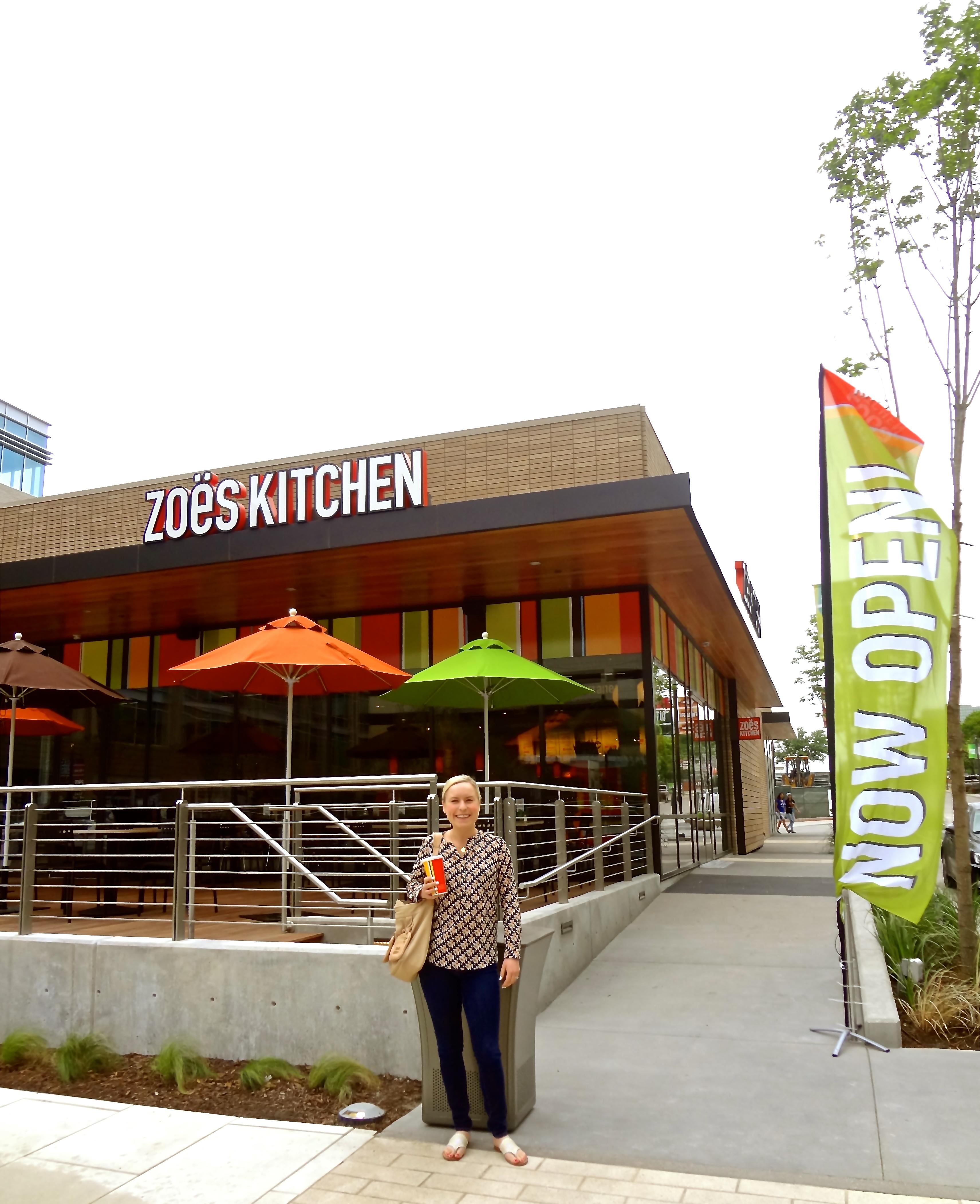 Zoe Kitchen: Fortuitous Foodies