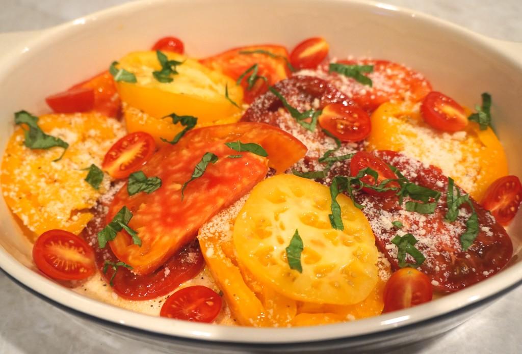 Tomato-Gratin