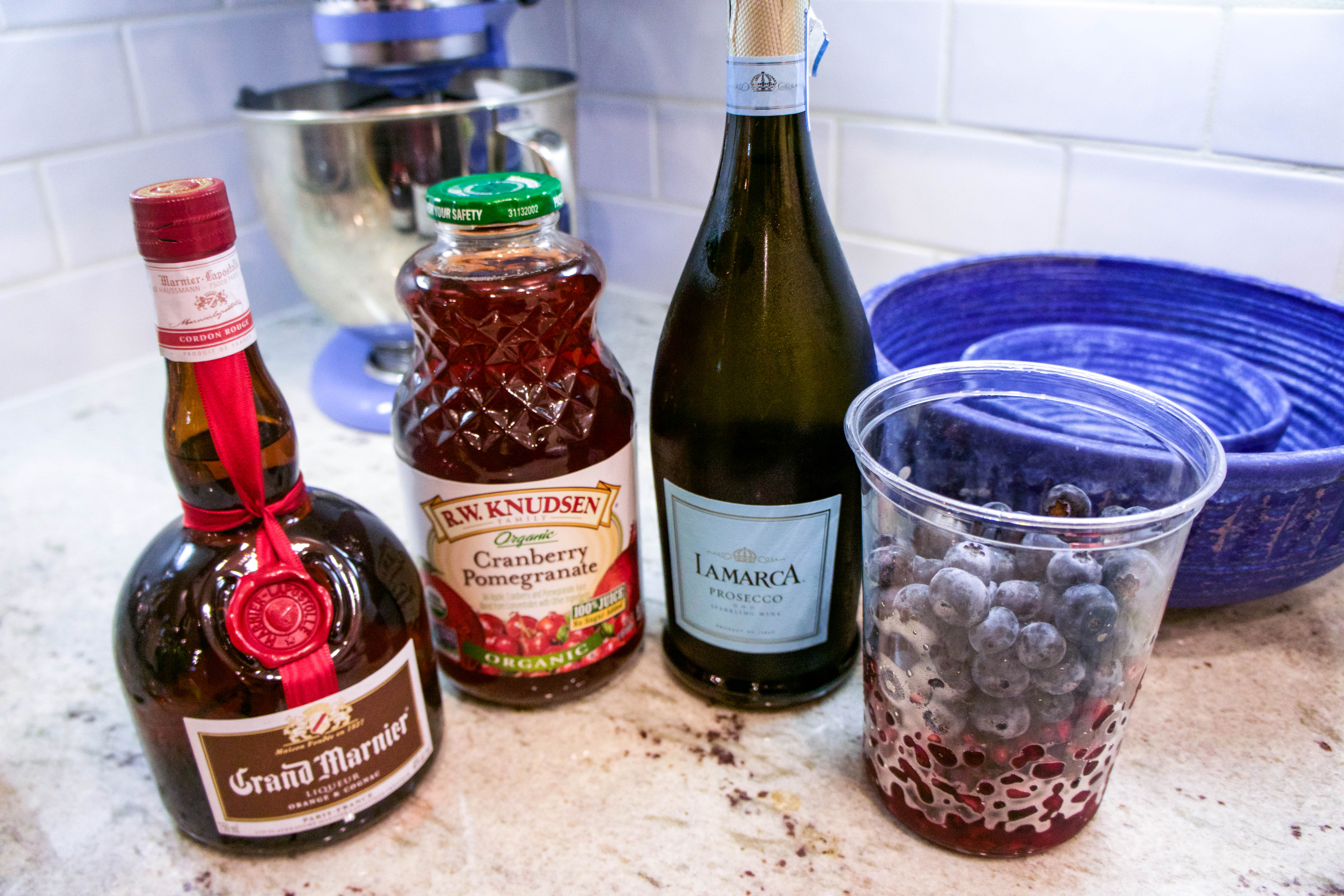 Grand Marnier Holiday Champagne Punch