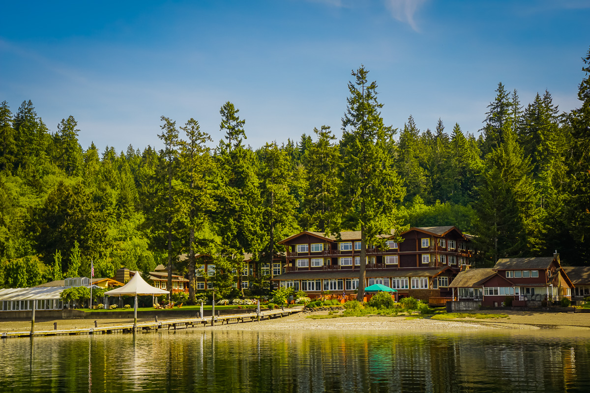 Alderbrook hotel review fortuitous foodies for Alderbrook homes