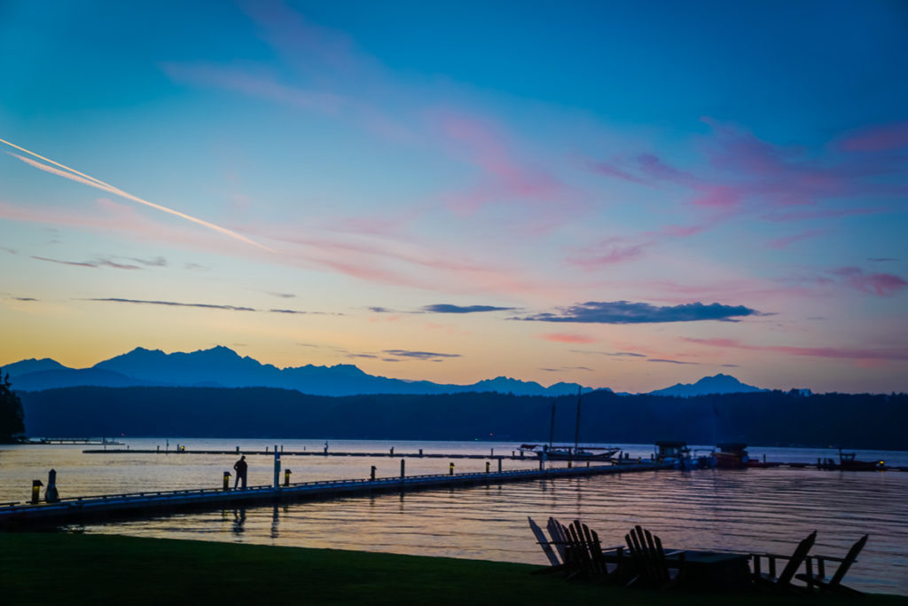Alderbrook Sunset