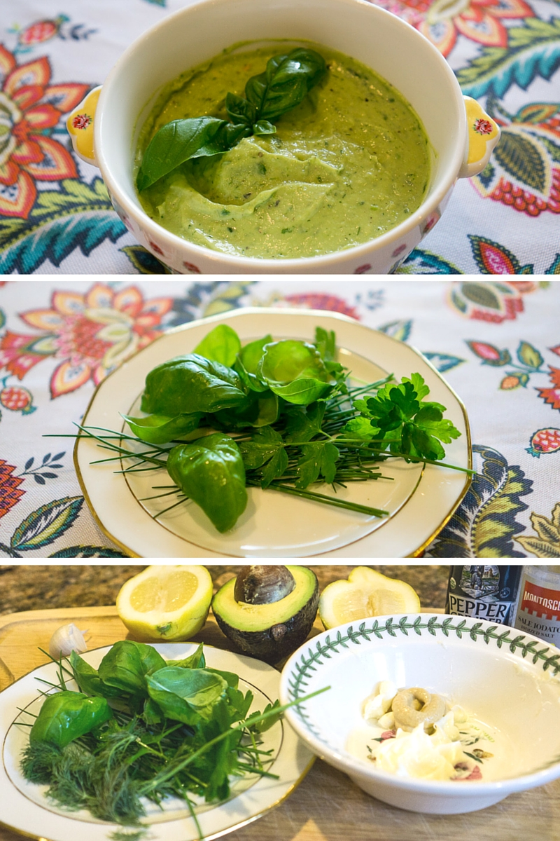 Herbed Avocado Mayo