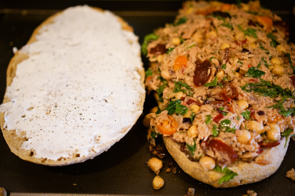 Rustic Tuna Salad Sandwich Recipe