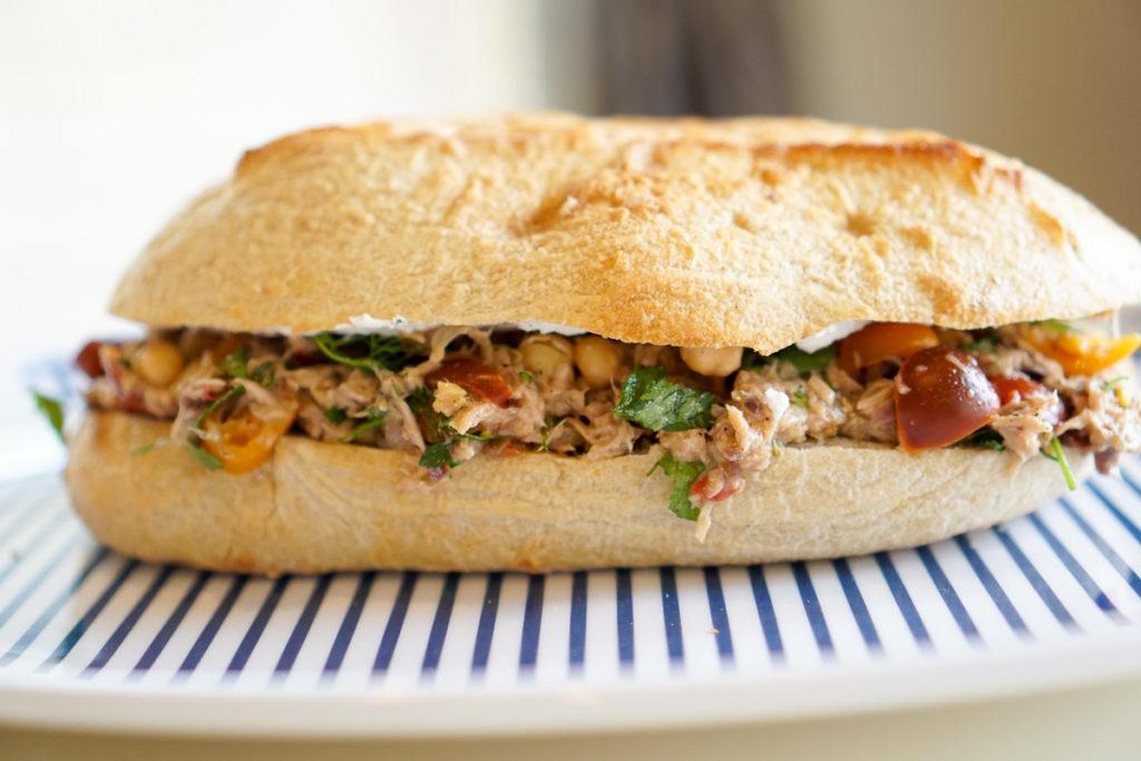Rustic Tuna Salad Sandwich