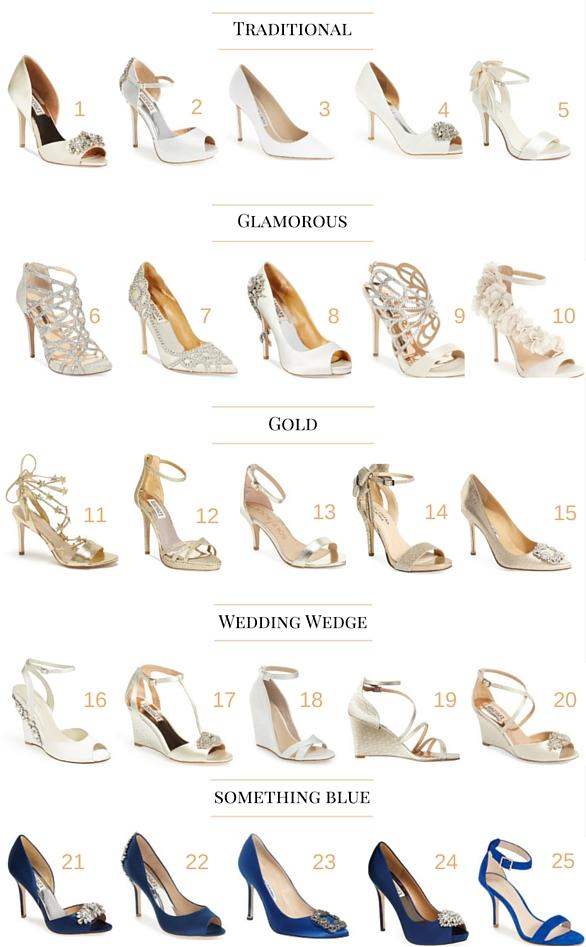Wedding Wednesday: Wedding Shoes!