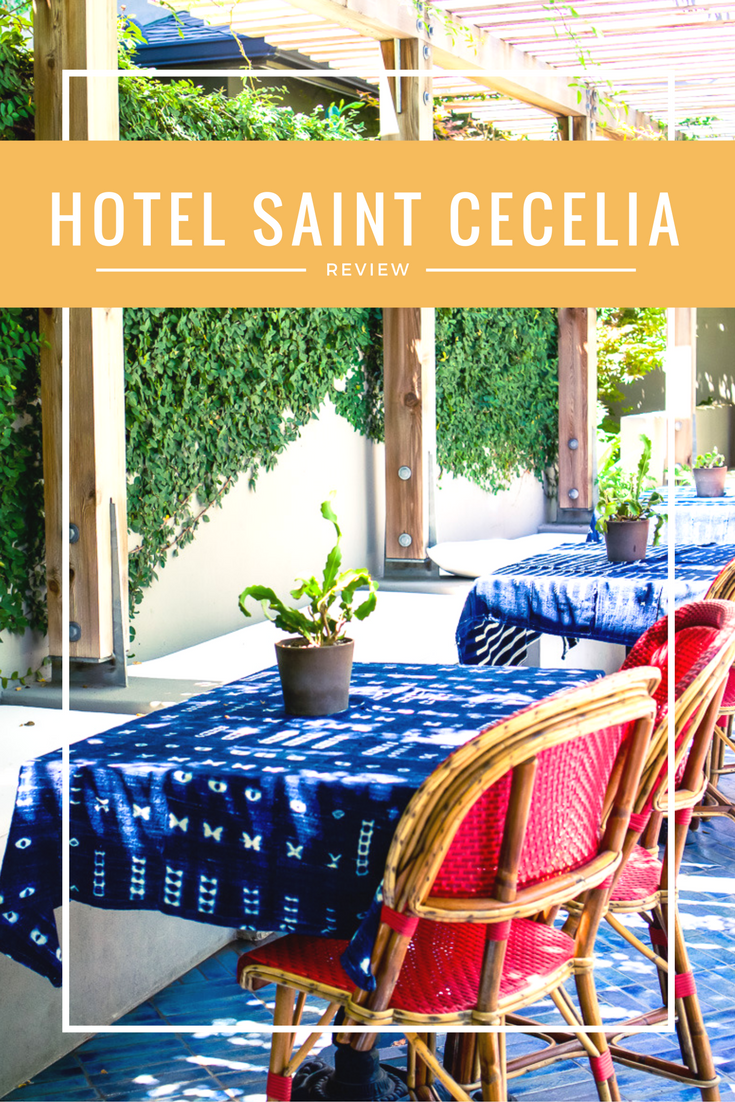 Hotel Review: Hotel Saint Cecelia