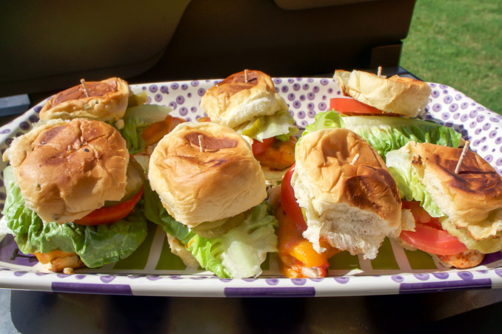 King's Hawaiian Rolls Spicy Grilled Chicken Sliders Recipe