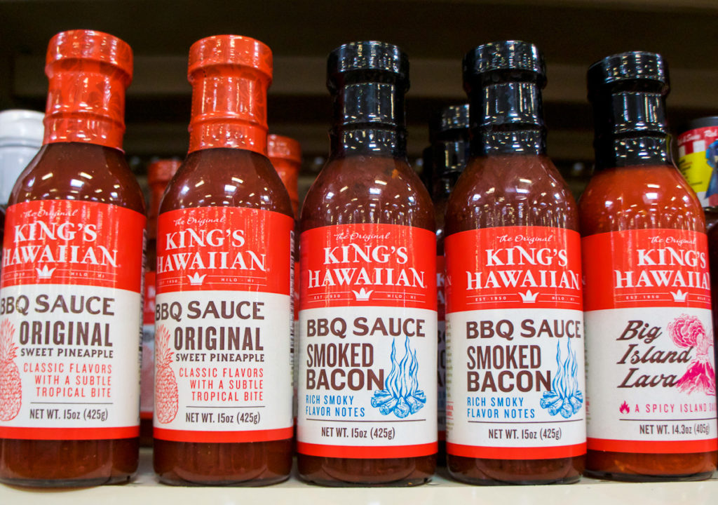 King's Hawaiian BBQ Sauce