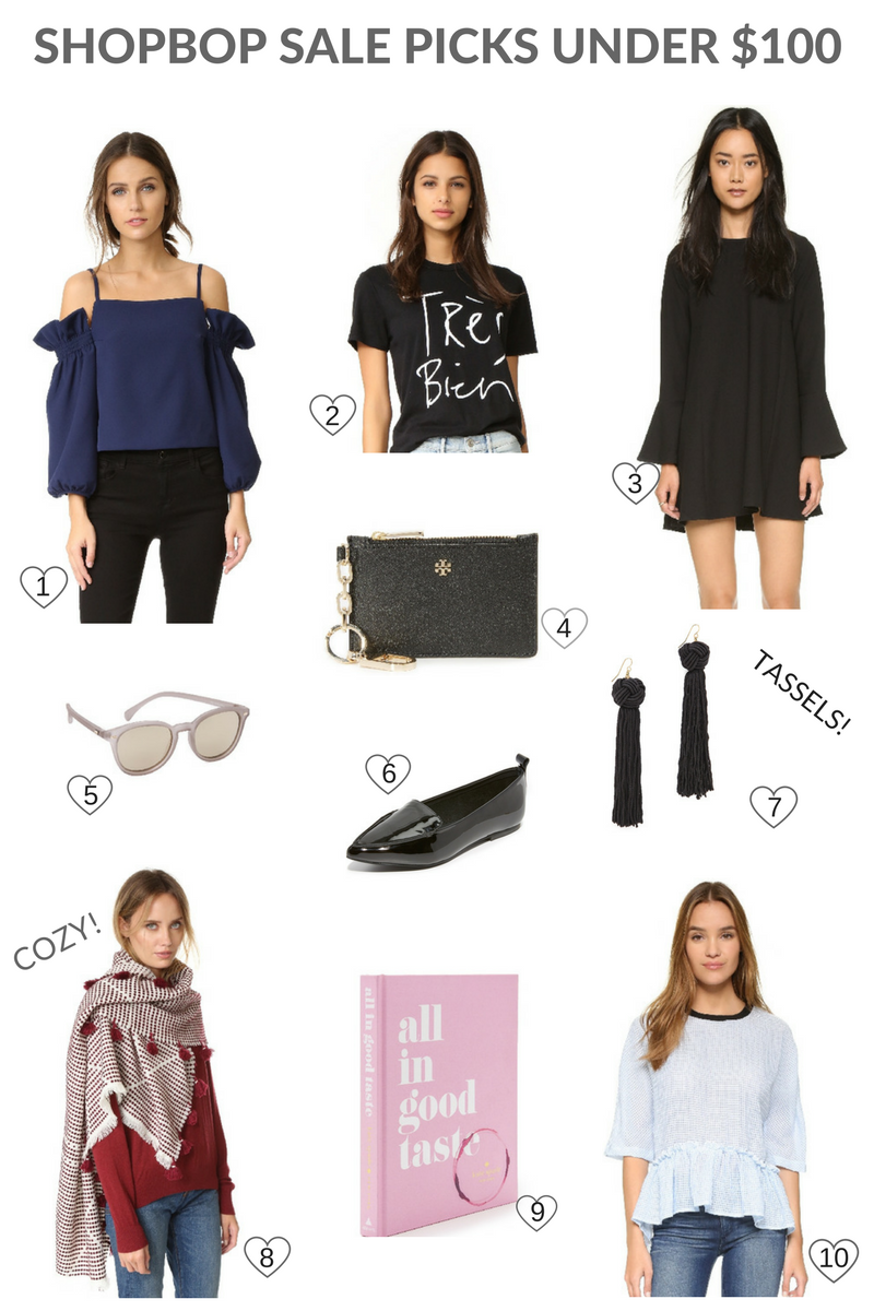 SHOPBOP SALE PICKS UNDER $100!