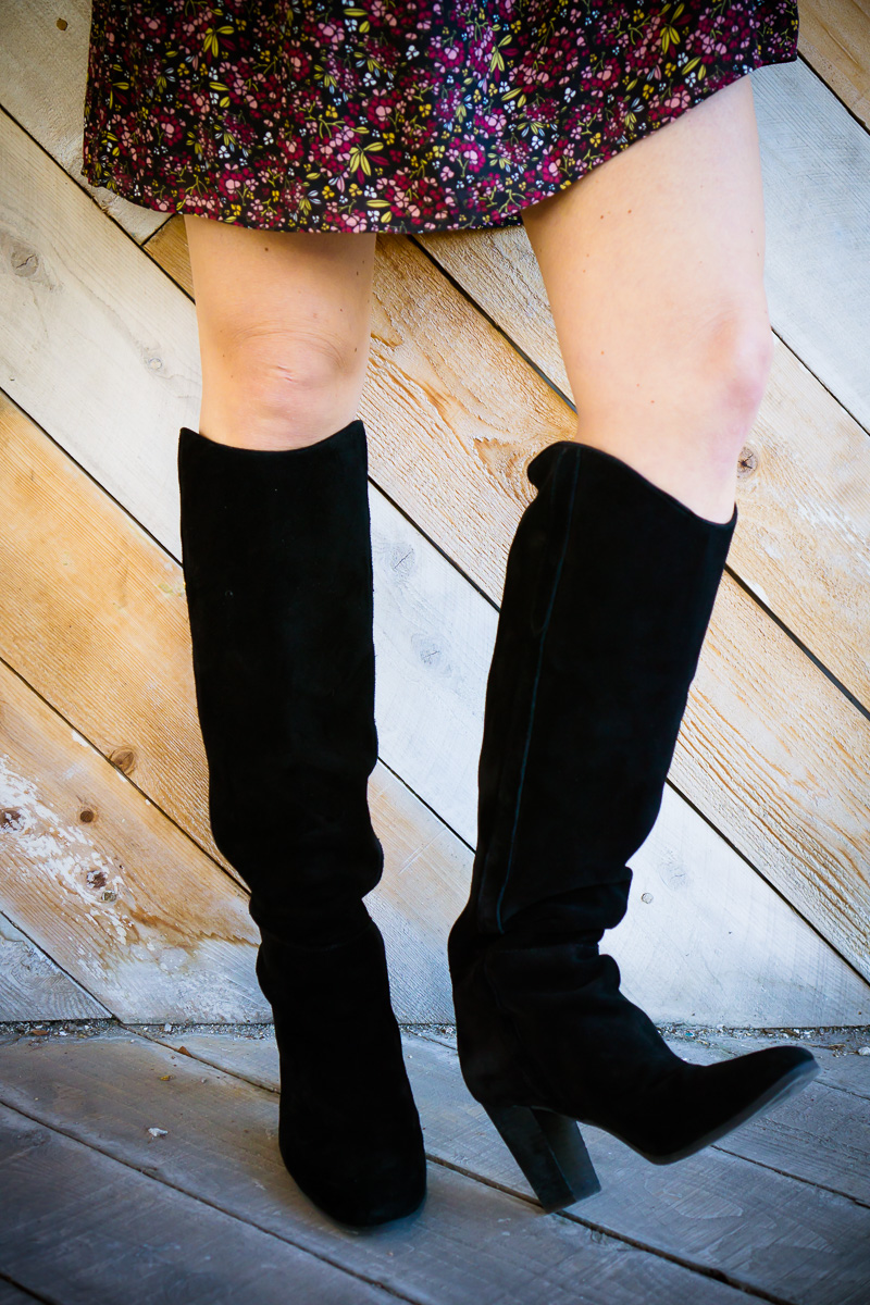 Black Knee High Boots for Fall