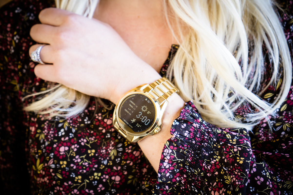 Bradshaw Michael Kors Hyrbid Watch