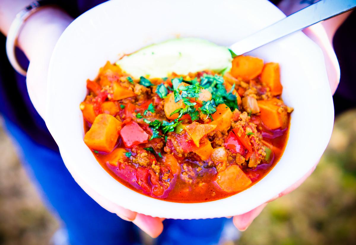 Beef & Sweet Potato Chili   Whole30 Recipe