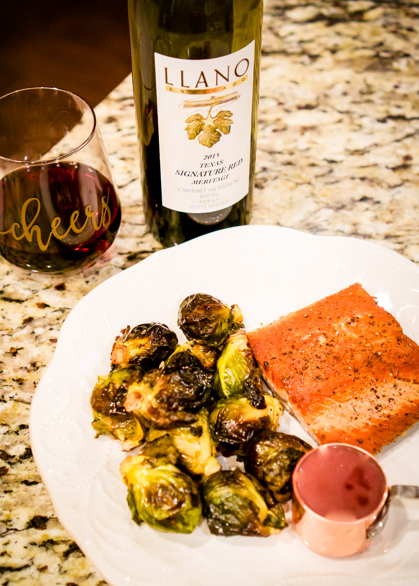 Recipe: Salmon with Red Wine Butter Sauce