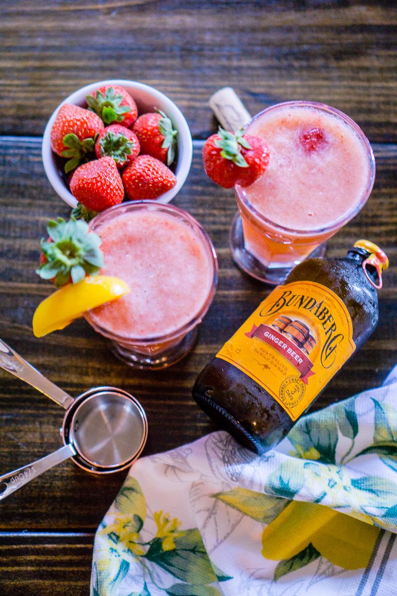 Rosé Wine Cocktail