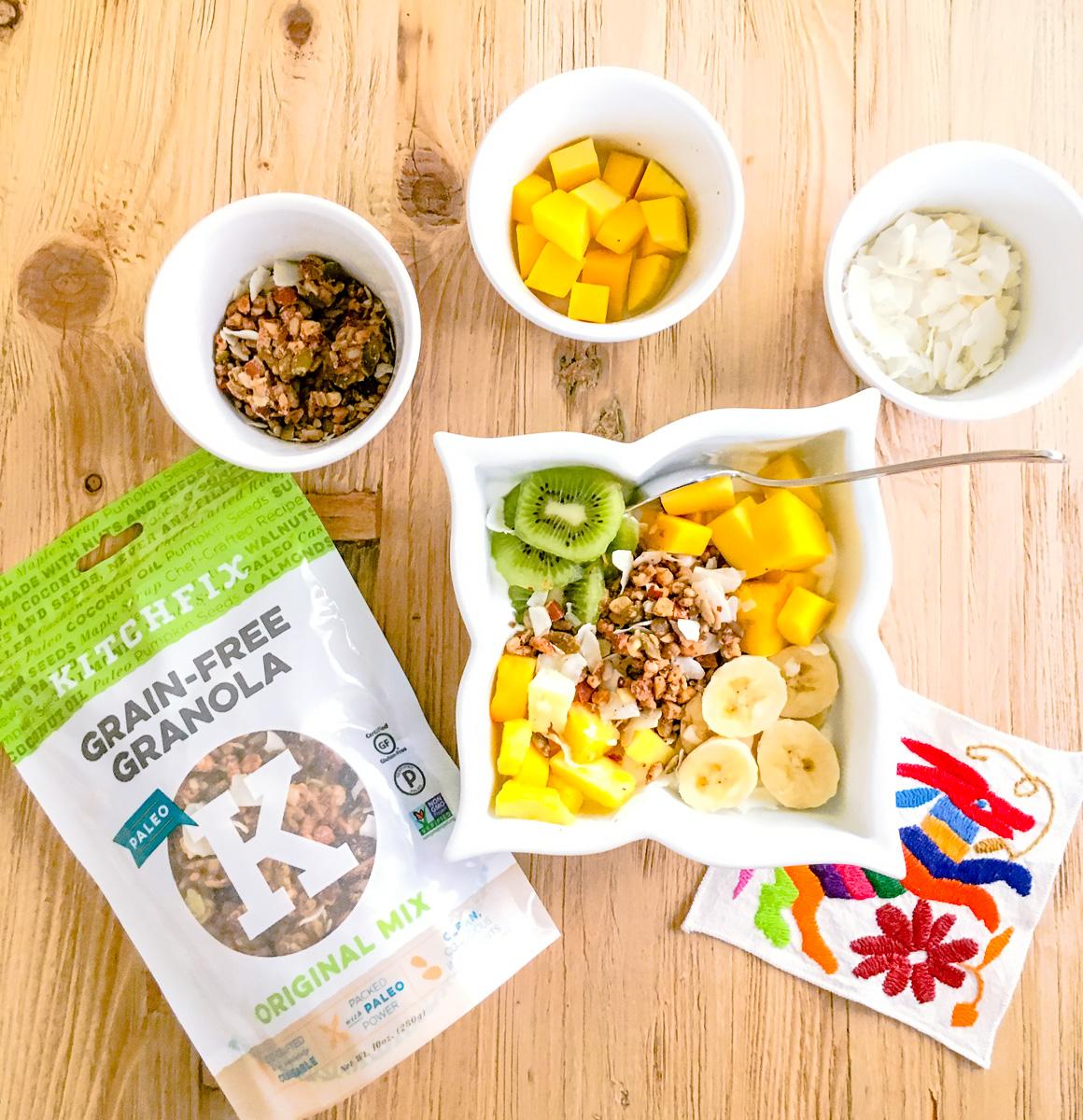 Tropical Breakfast Bowl Recipe