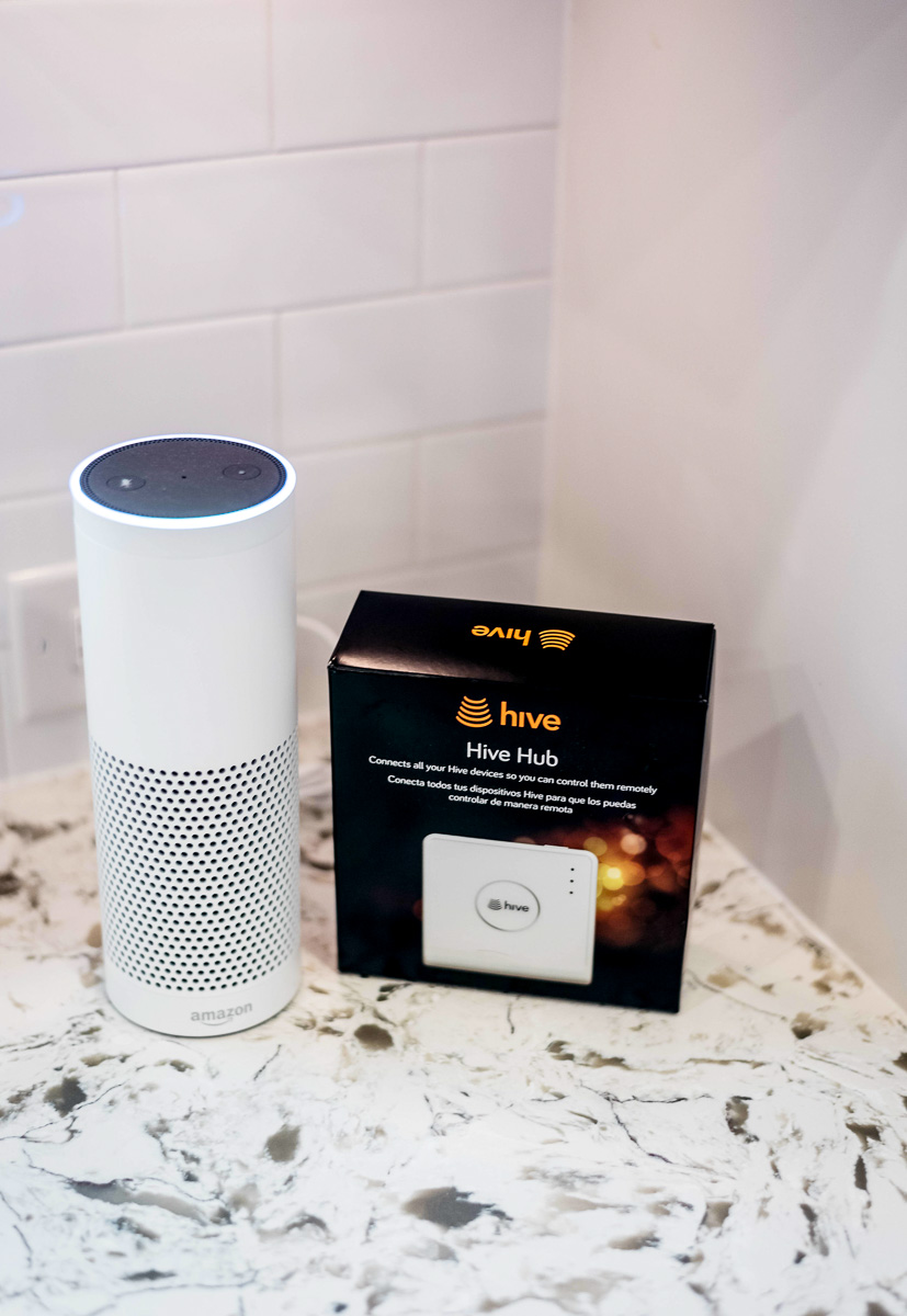 Hive Home Pairs with Amazon Alexa