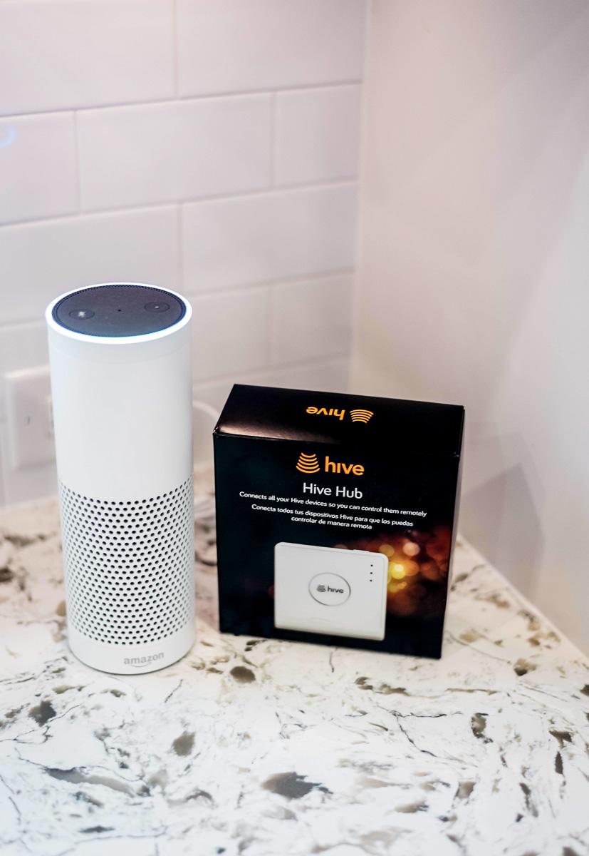 Hive Home Pairs with Amazon Alexa