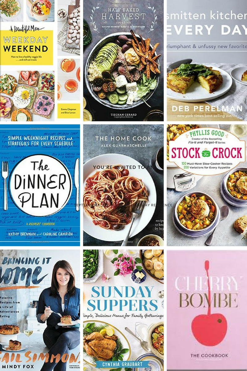 Our favorite coobooks for fall 2017