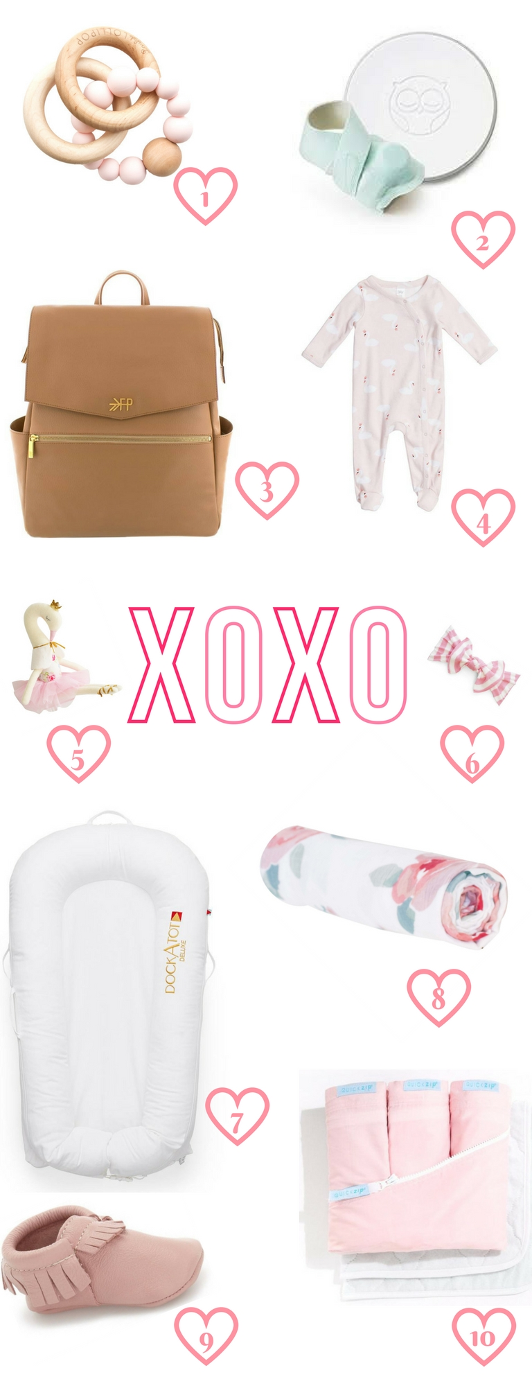 Baby Registry Must Have Items for Girls