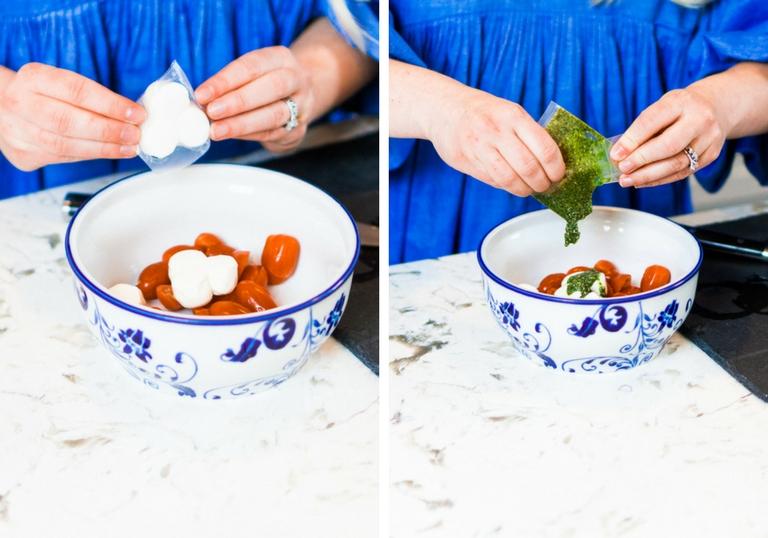 Caprese Salad Prep