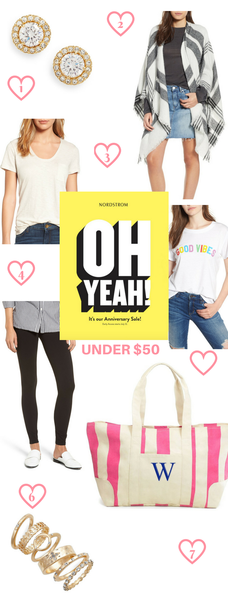 Nordstrom Anniversary Sale Picks Under $25!