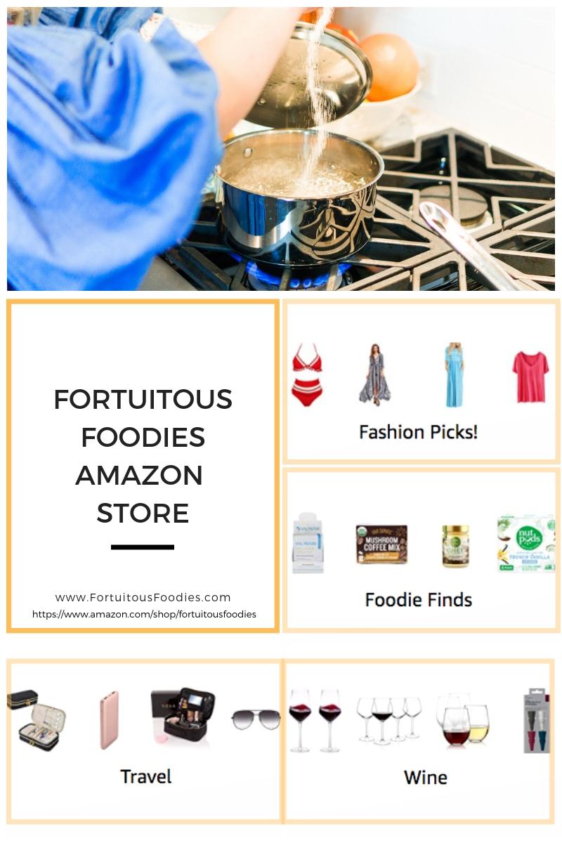 Fortuitous Foodies Amazon Storefront